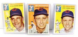 3 Cincinnati Redlegs 1950's Topps Baseball Cards