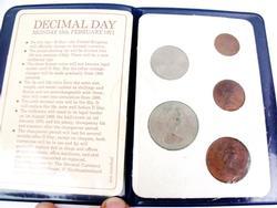 Britain's 1st Decimal Coins