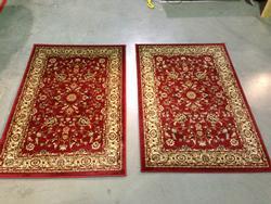 Persian Kashan Design Matching Pair 3x4 Area Rug