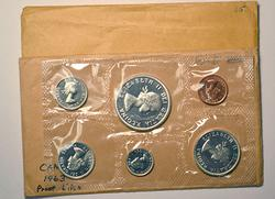 1963 and 1965 Silver Canada Unc Sets