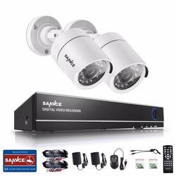 Security DVR CCTV Camera System Outdoor Weatherproof