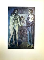 Vintage Pablo Picasso, 'La Vie' Circa 1954