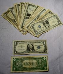 50 Assorted Silver Certificates