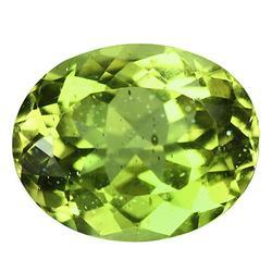 Rare 3.95ct yellow green untreated Apatite