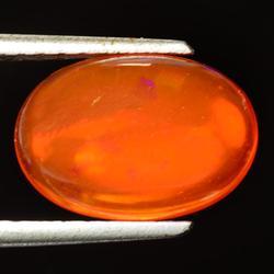 Ravishing 2.71ct AAA top orange Fire Opal