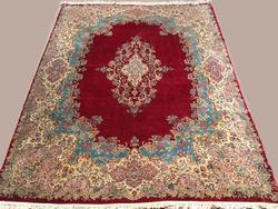 Darling 1960s Fine Hand Woven Vintage Royal Persian Kerman