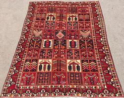 Very Rare 1950s Authentic Handmade Vintage Persian Rug