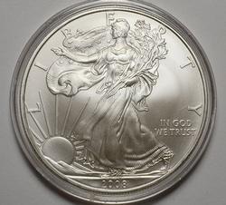BU America Silver Eagle, 2008