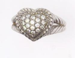 Judith Ripka Heart Ring