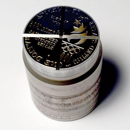Amazing US Mint Proof Commem Dollar Die, 1996