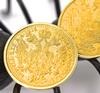 Nice Pair of Gold Coin Earrings
