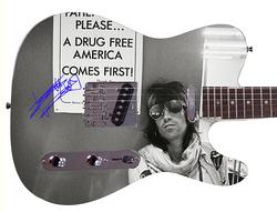 Rolling Stones Keith Richards Facsimile Autographed  Guitar