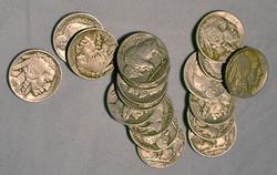 Nicer lot of 3/4 Full Horn Buffalo Nickels