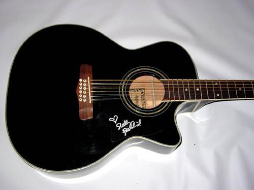 SHELLY FAIRCHILD Signed 12-String Acoustic Elec Guitar PSA/DNA