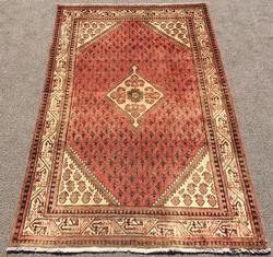 Unique Mid-20th C. Authentic Handmade Vintage Persian Rug