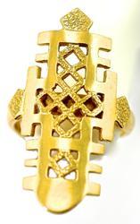 Elegant Ethnic Inspired 22K Ring