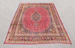Simply Gorgeous Semi Antique Persian Mashhad 12.6x9.7