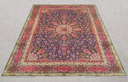 Charming/Colorful Semi Antique Persian Tabriz 12.2x9.7