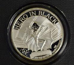 1989 Batman Fine Silver Round, Limited Ed.