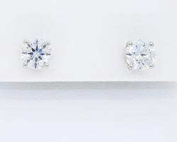 VVS Clarity Tiffany & Co Diamond Earrings