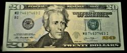 Fancy Repeater Serial $20 Note CH CU, 74637463