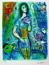 Limited Edition Color Giclee By Chagall