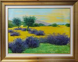 Stunning Mario Soave Original Oil On Canvas