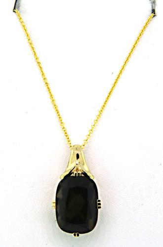 Impressive large smokey quartz pendant necklace usauctiononline impressive large smokey quartz pendant necklace aloadofball Choice Image