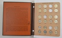 178 Coins - 1932-1998 Washington Quarters Album Partial Set