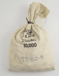 $2,000 1980-S Susan B Anthony Dollars Bag BU Origanl Bank SEALED BAG