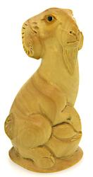 Hand Carved Boxwood Netsuke Sculpture