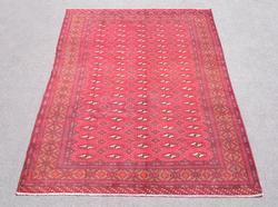 Hand Woven Semi Antique Persian Turkman 9.6x6.3