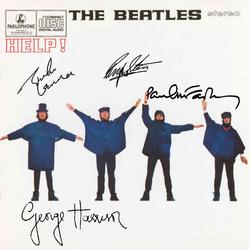 The Beatles Signed Facsimile Yellow Submarine Record Album