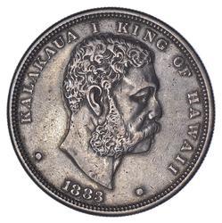 1883 Hawaii Silver Dollar - Circulated