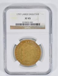 XF45 1797 $10.00 Capped Bust Gold Eagle - NGC Graded