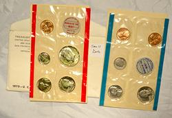 1970 Small Date US Mint Set in Original envelope