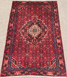 Highly Detailed 1960s High Quality Vintage Persian Rug