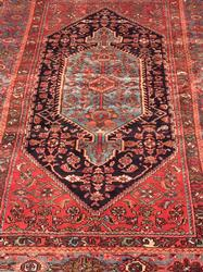 Charming 1950s Handmade Vintage Persian Rug