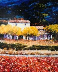 Beautiful Barbara McCann Giclee on canvas.