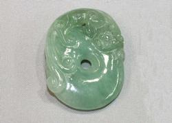 Natural Burmese Jadeite Carving