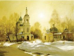 Winter Silence Limited Edition Giclee by Tatyana Klevenskiy