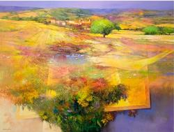 Whimsical Landscape by Nicola De Benedictis