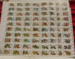 State Birds Stamps sheets $30.00 face