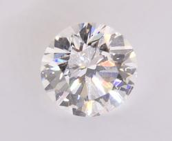 Precise Certified 0.50CT RBC Diamond, Colorless