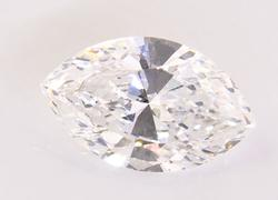 Colorless GIA Certified .90 CT Marquise Cut Diamond VS2