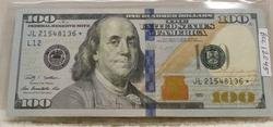 2009 $100. Fed. Reserve Note, Star Note, Uncirculated