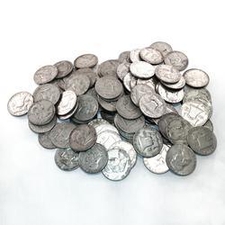 90% Silver Franklin Halves 100 pcs