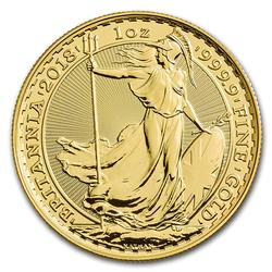 Great Britain 1 oz Gold 2018 Britannia