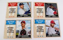 4 All Topps Selection Baseball Cards