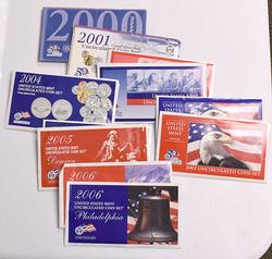 2000-2006 US Mint Sets